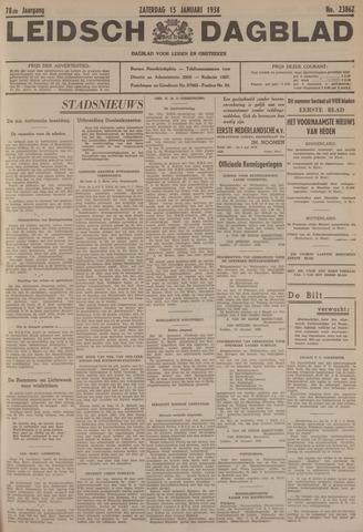Leidsch Dagblad 1938-01-15