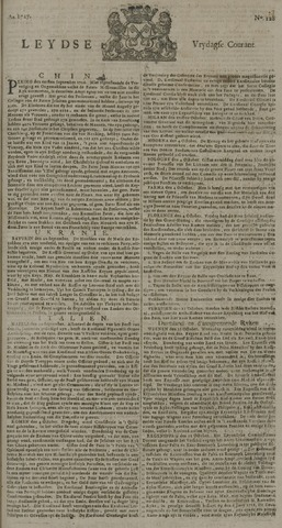 Leydse Courant 1727-10-24