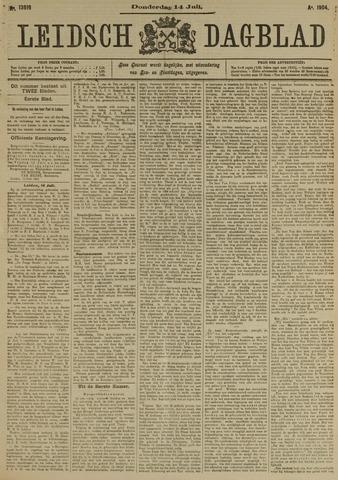 Leidsch Dagblad 1904-07-14