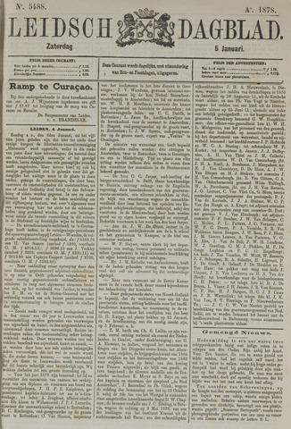 Leidsch Dagblad 1878-01-05
