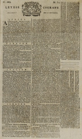Leydse Courant 1803-09-19