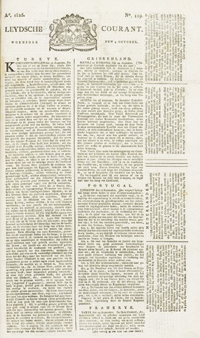 Leydse Courant 1826-10-04