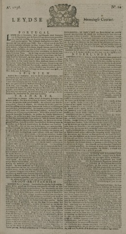 Leydse Courant 1736-01-23