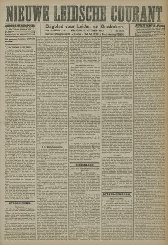Nieuwe Leidsche Courant 1923-10-12