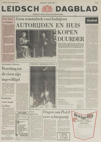 Leidsch Dagblad 1978-09-19