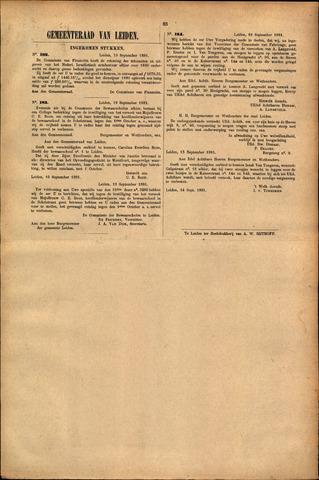 Handelingen van de Raad 1881-09-19