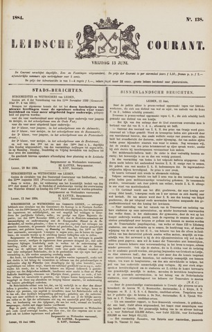 Leydse Courant 1884-06-13