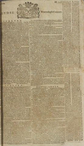 Leydse Courant 1770-10-24
