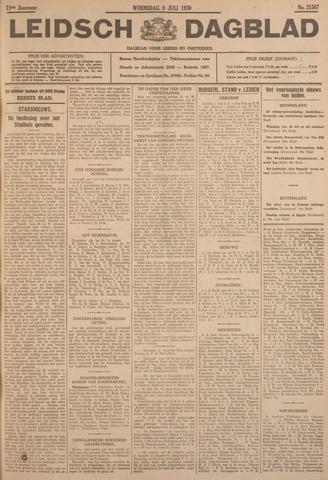 Leidsch Dagblad 1930-07-09