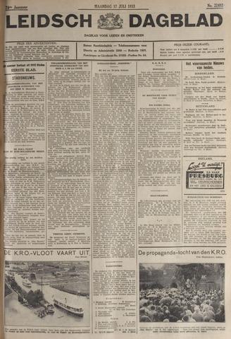 Leidsch Dagblad 1933-07-17