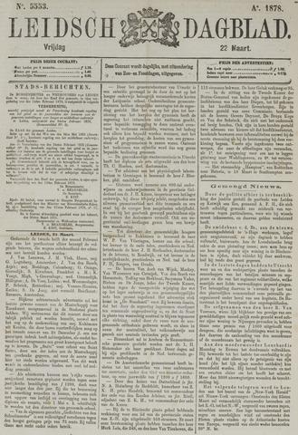 Leidsch Dagblad 1878-03-22