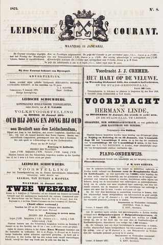 Leydse Courant 1875-01-11