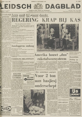 Leidsch Dagblad 1967-09-19