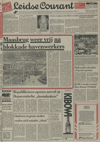 Leidse Courant 1984-08-21