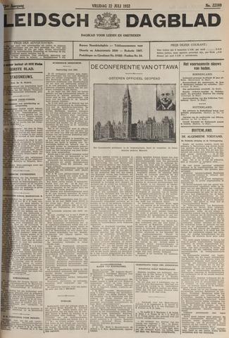 Leidsch Dagblad 1932-07-22