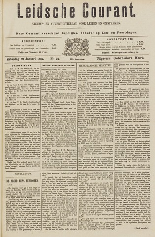 Leydse Courant 1887-01-29