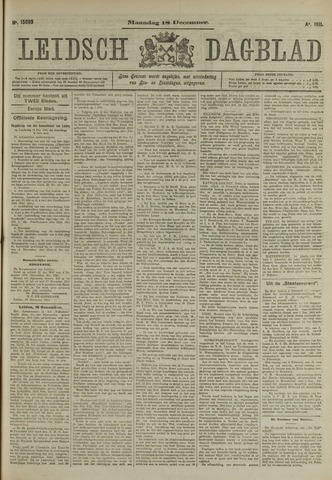Leidsch Dagblad 1911-12-18