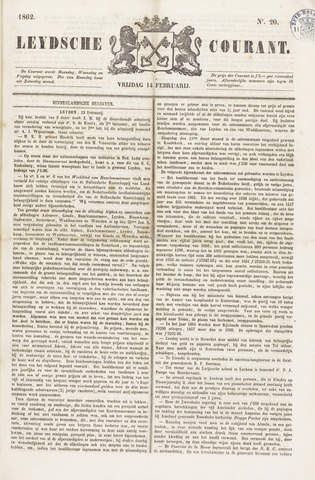 Leydse Courant 1862-02-14