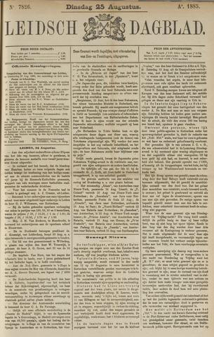 Leidsch Dagblad 1885-08-25
