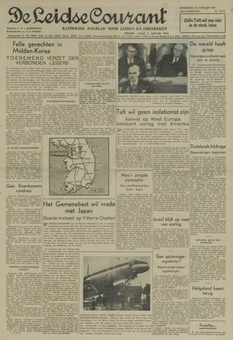 Leidse Courant 1951-01-10