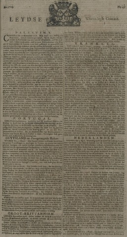 Leydse Courant 1729-04-06