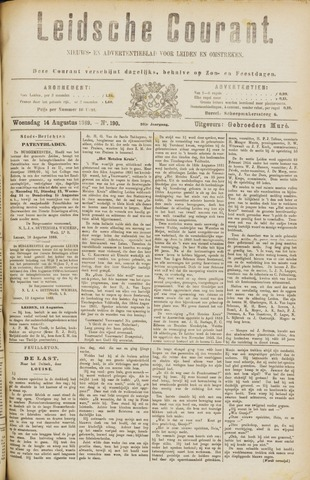 Leydse Courant 1889-08-14