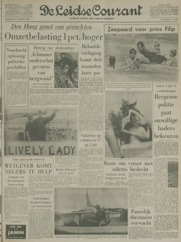 Leidse Courant 1966-08-10