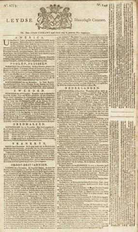 Leydse Courant 1773-12-13