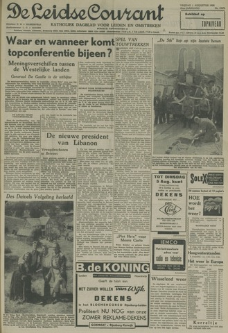 Leidse Courant 1958-08-01