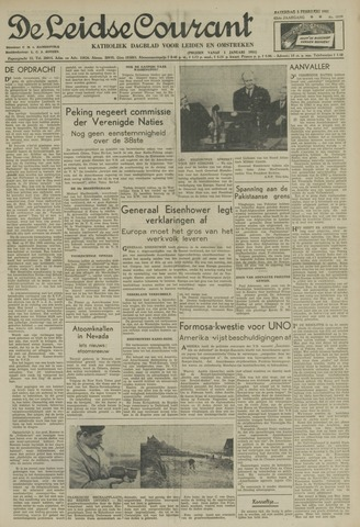 Leidse Courant 1951-02-03