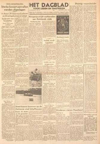Dagblad voor Leiden en Omstreken 1944-04-03