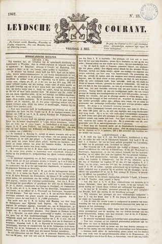 Leydse Courant 1862-05-02