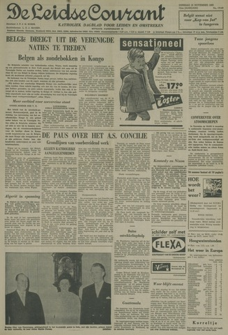 Leidse Courant 1960-11-15