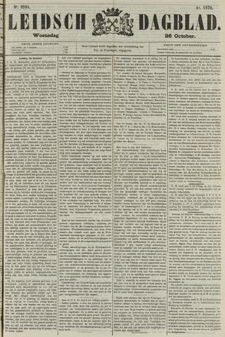 Leidsch Dagblad 1870-10-26