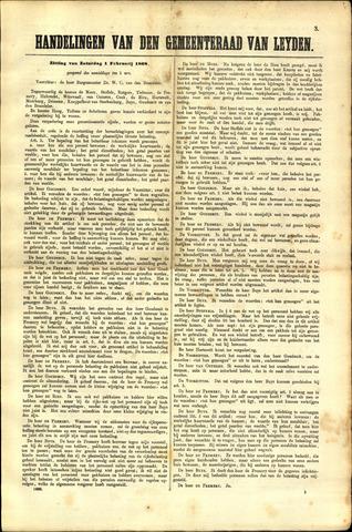 Handelingen van de Raad 1868-02-01