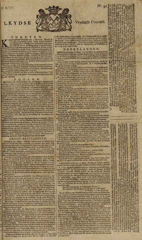 Leydse Courant 1777-03-14