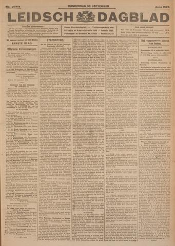 Leidsch Dagblad 1926-09-30
