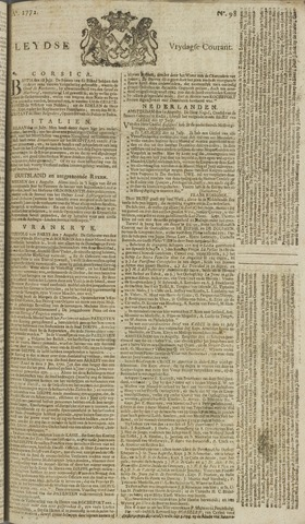 Leydse Courant 1772-08-14