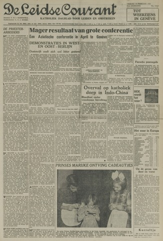 Leidse Courant 1954-02-19