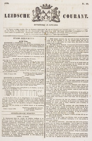 Leydse Courant 1876-01-13