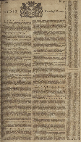 Leydse Courant 1760-07-30