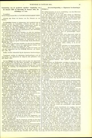 Handelingen van de Raad 1934-01-24