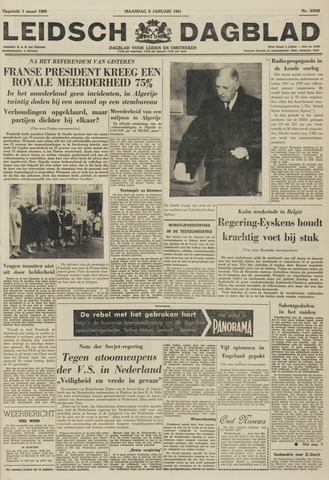 Leidsch Dagblad 1961-01-09