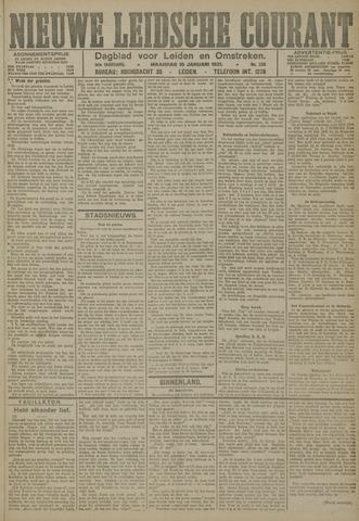 Nieuwe Leidsche Courant 1921-01-10