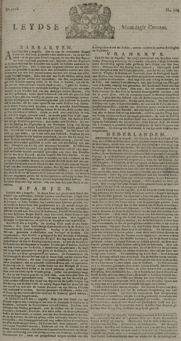 Leydse Courant 1728-08-30
