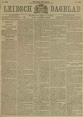 Leidsch Dagblad 1904-04-12