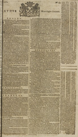 Leydse Courant 1773-08-09