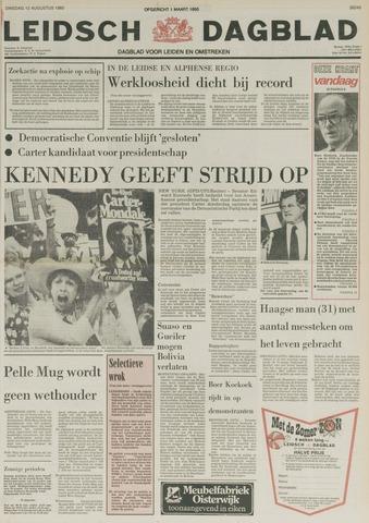 Leidsch Dagblad 1980-08-12
