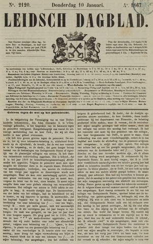 Leidsch Dagblad 1867-01-10