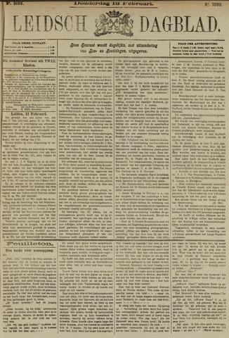 Leidsch Dagblad 1890-02-13
